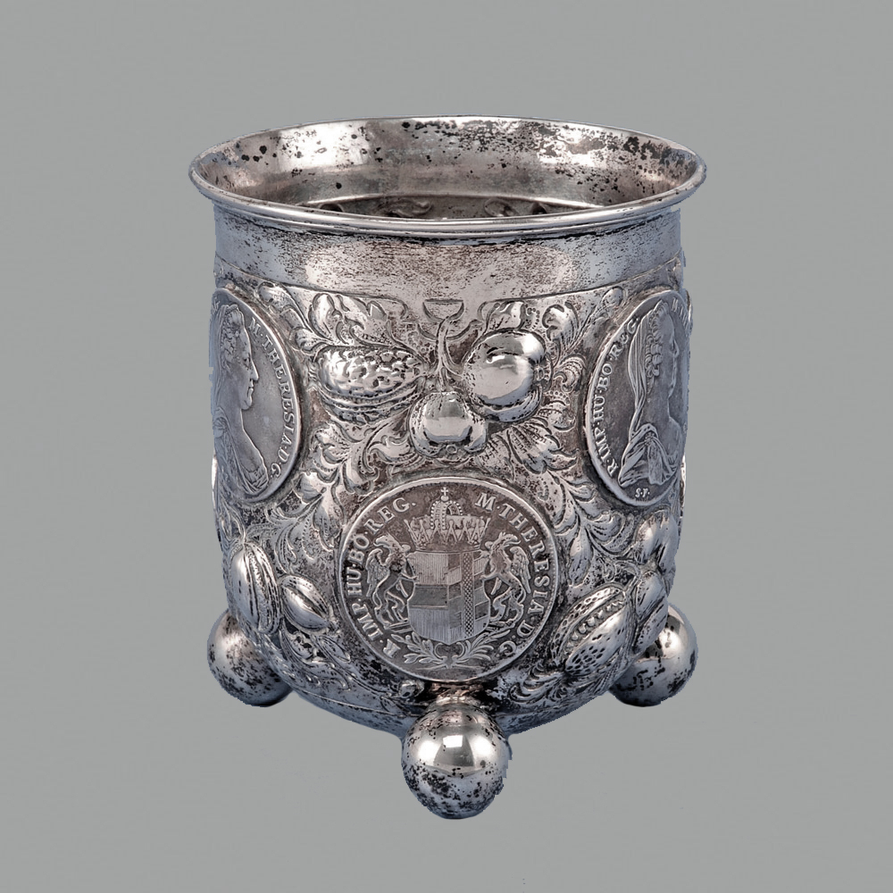 Antike & Alte Silber Becher, Russisches Silber, Silber, Antikes Silber
